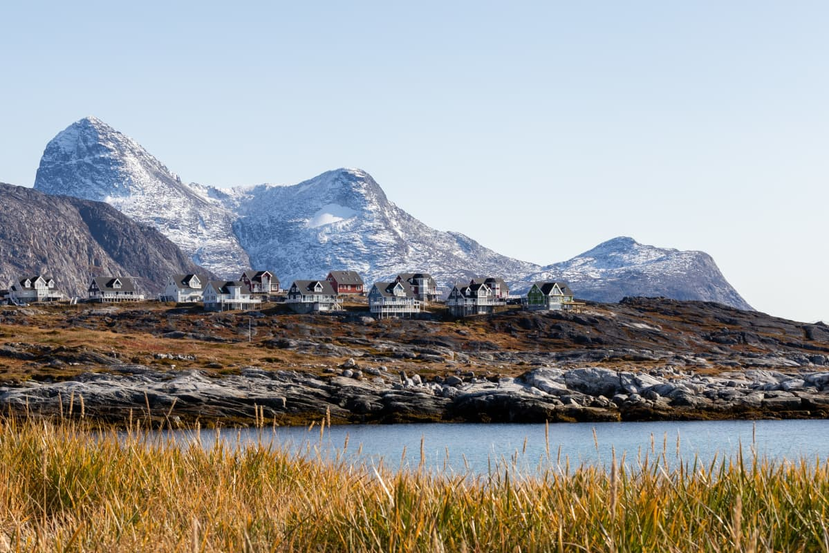 Grönlannin pääkaupunki Nuuk
