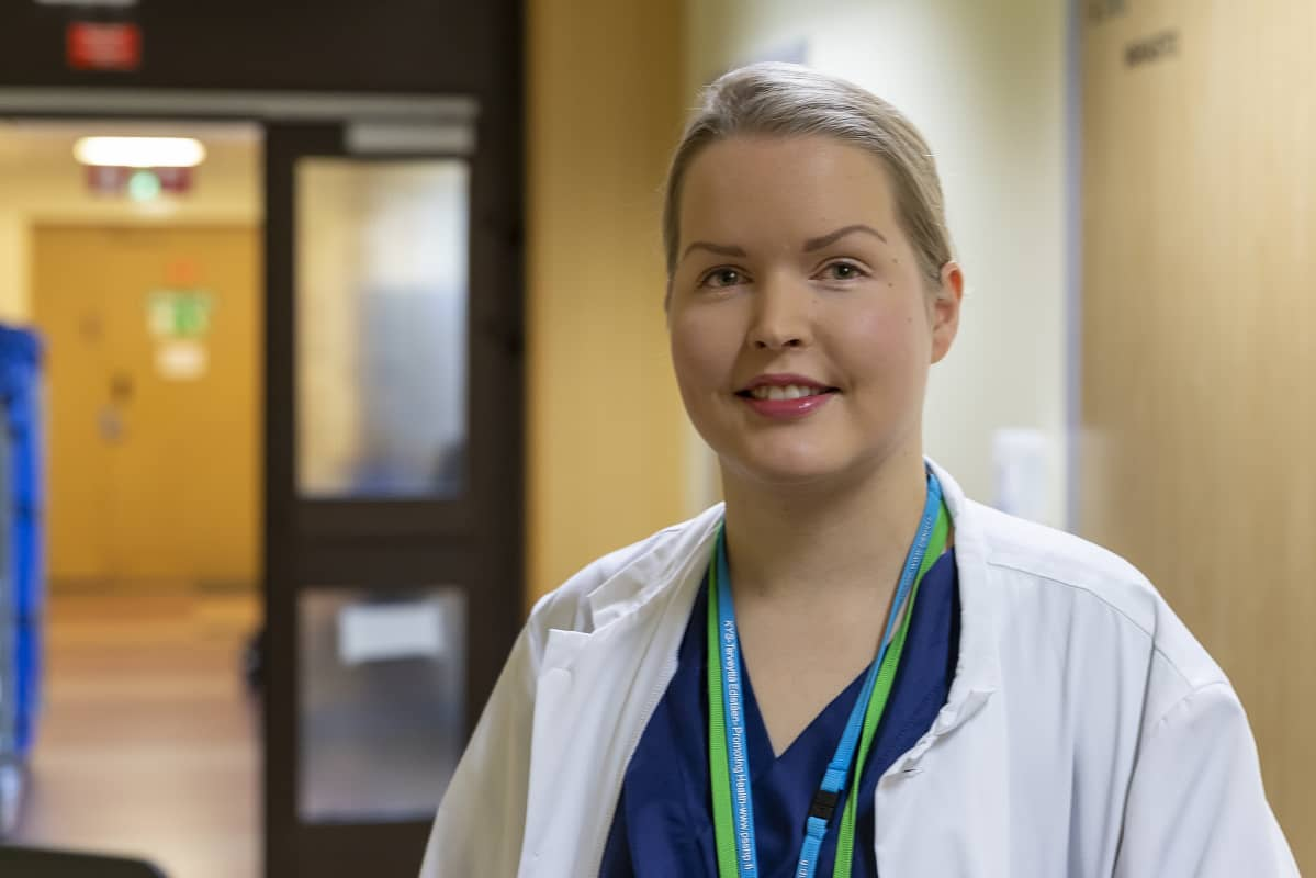 Lääkäri Hanna Leppänen