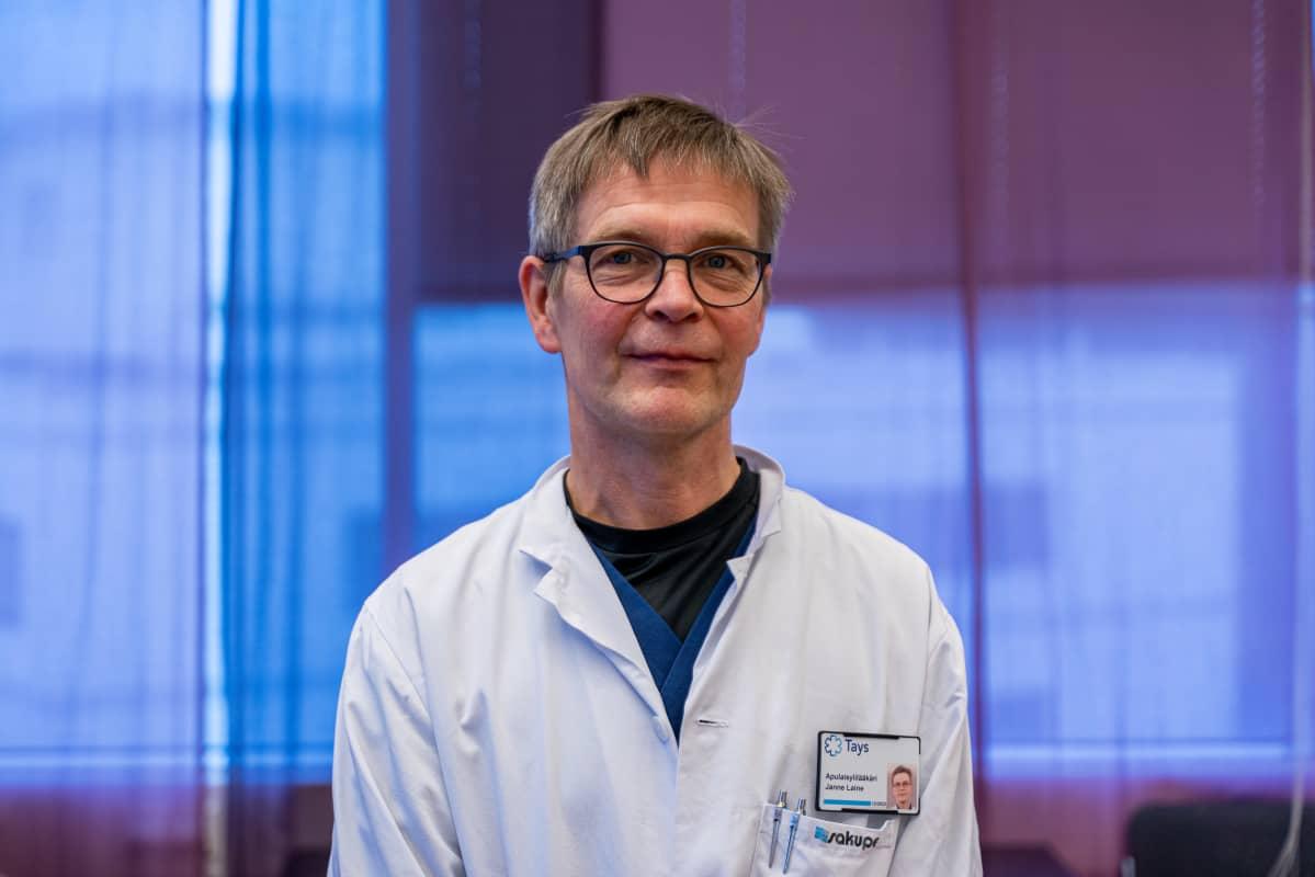Infektiolääkäri Janne Laine