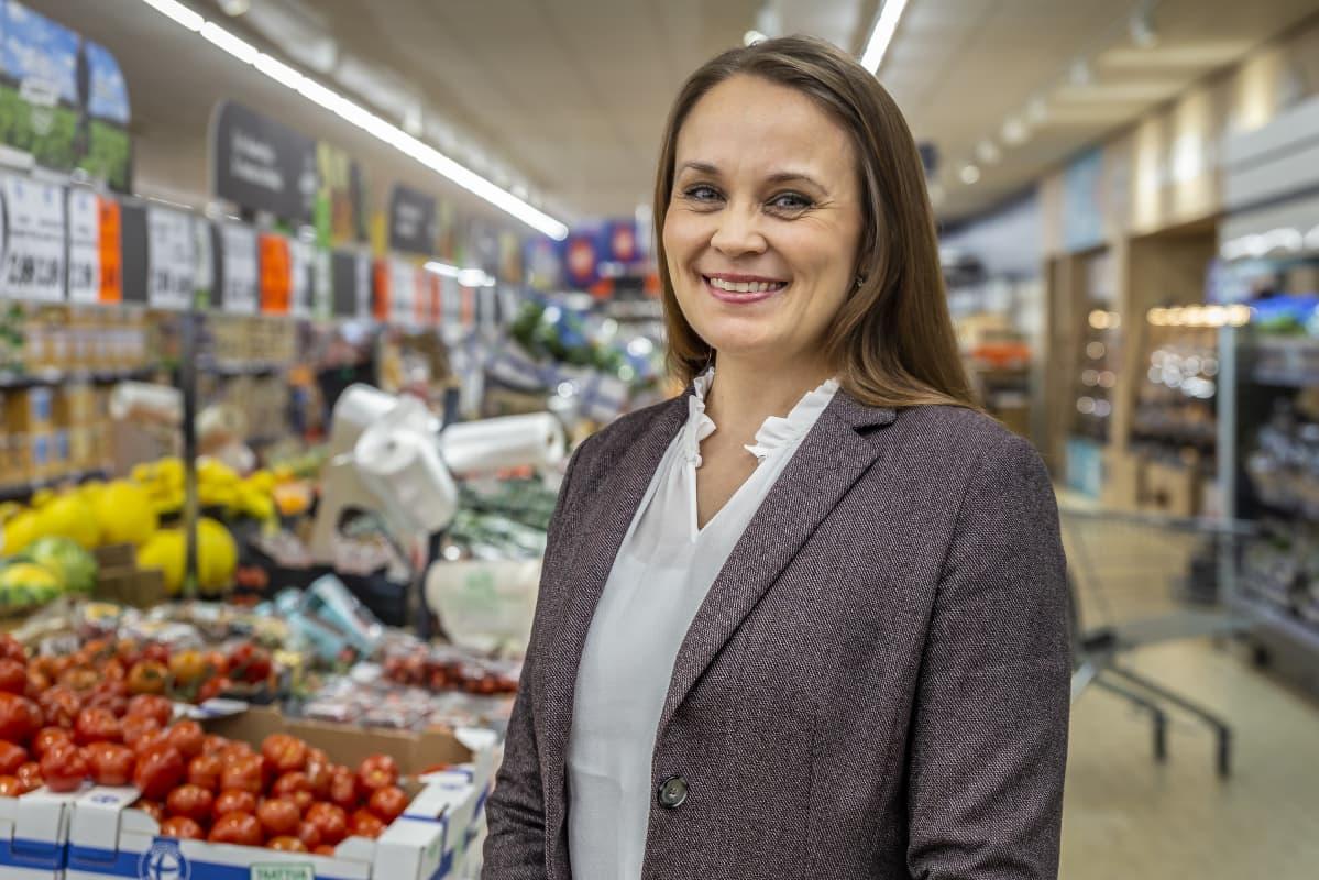 Lidlin henkilöstöpäällikkö Sanna Rainio