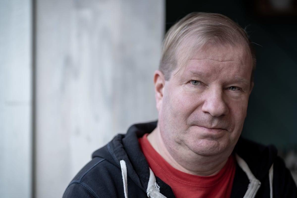 Muusikko ja musiikkipedagogi Jussi Liski, Konditoria Hopia, Kumpula, Helsinki, 26.2.2020.