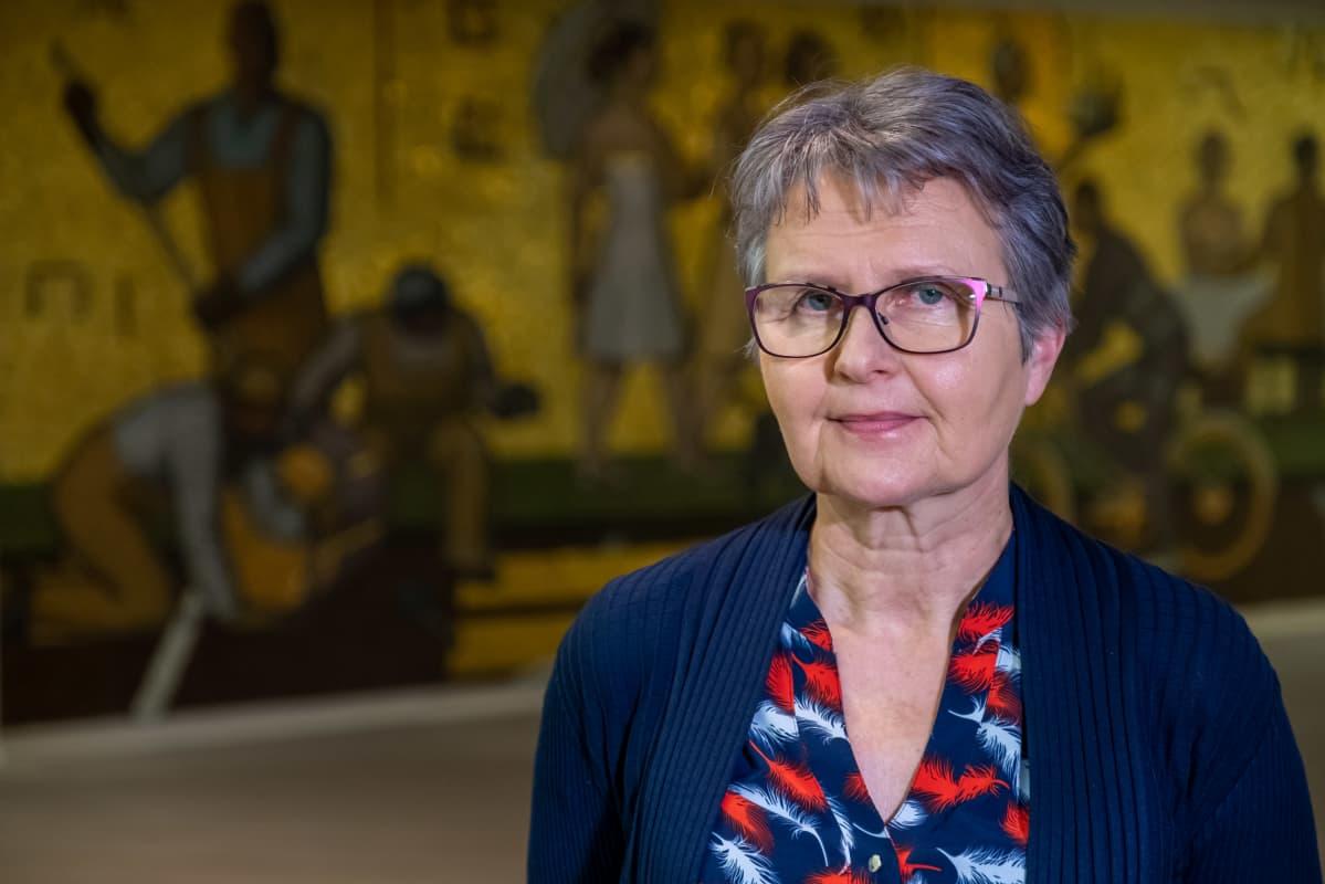 Kuntaliiton Sosiaali ja terveysasioista vastaava johtaja Tarja Myllärinen.