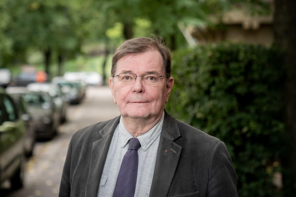 SPR:n kansainvälisen avun johtaja Kalle Löövi