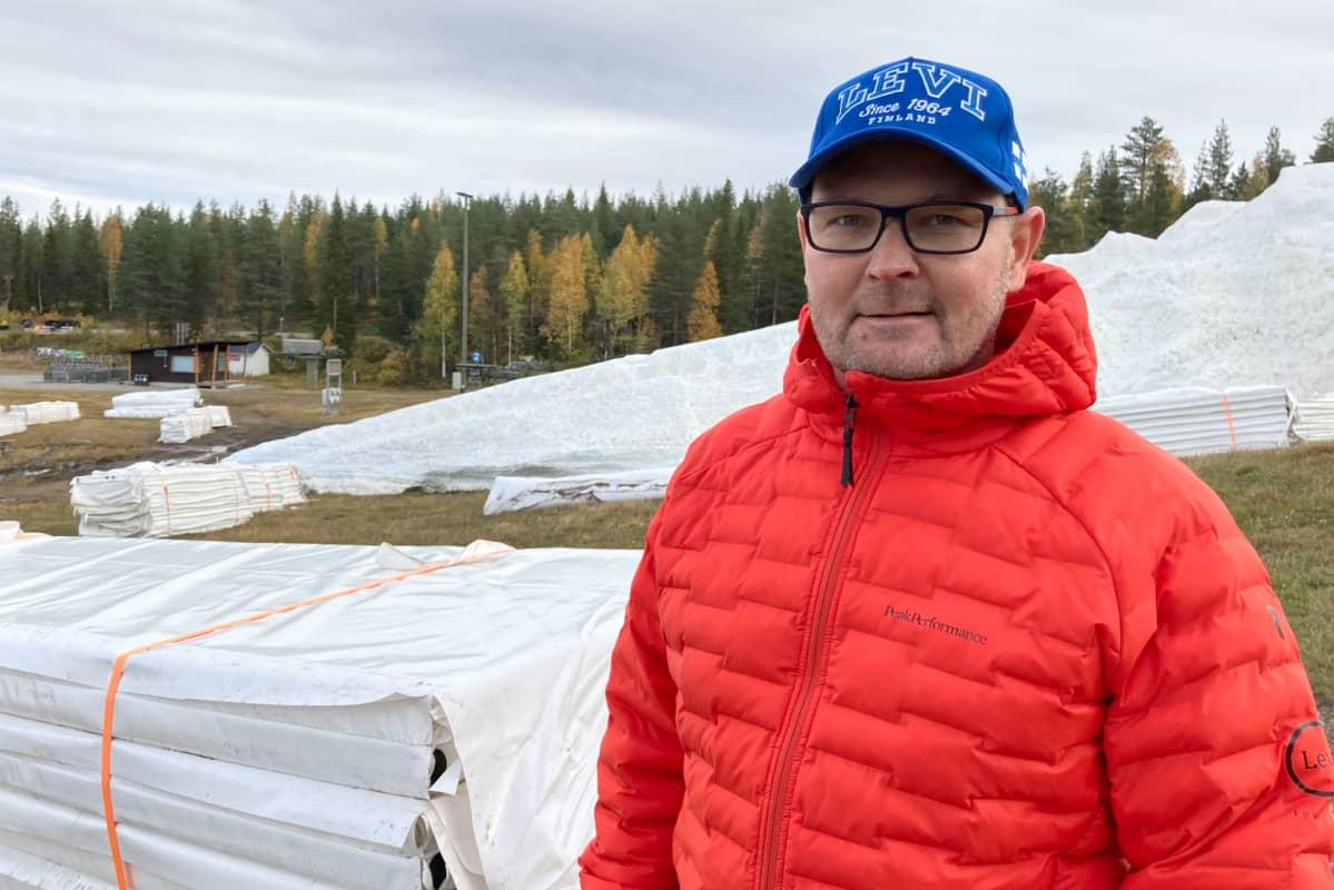 Levi Ski Resortin liiketoimintajohtaja Marko Mustonen.