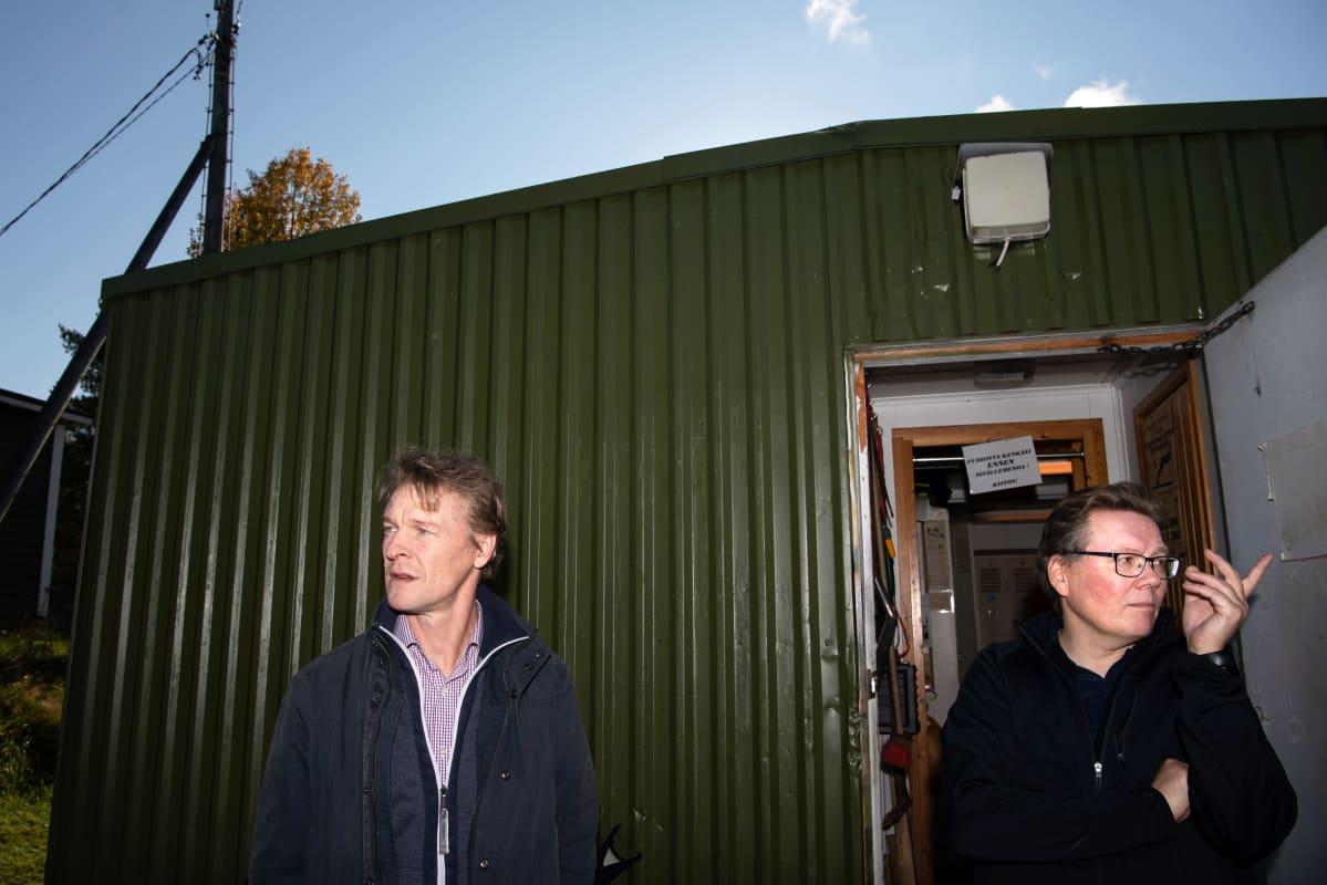 Toni Nieminen ja Antti Kainulainen