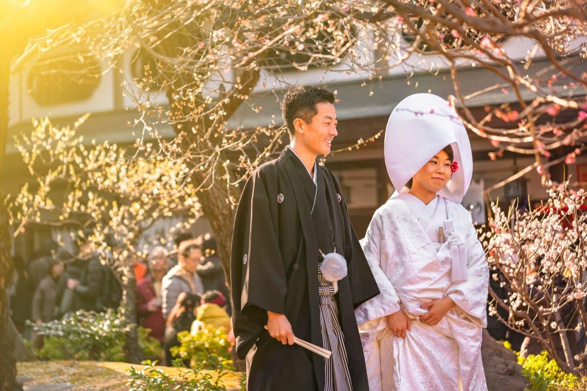 Japanilaiset perinteiset häät