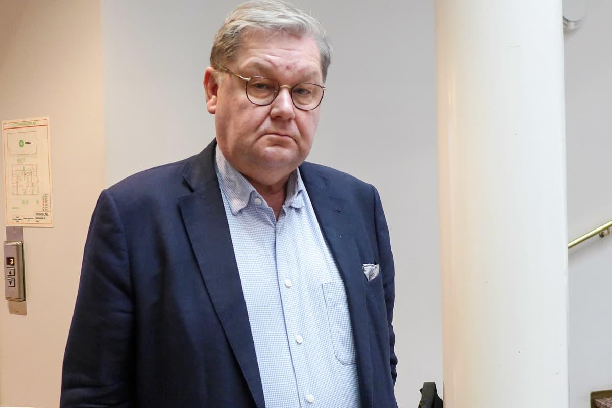 Jan Hanses kommentoi Viking Gracen turmaa.