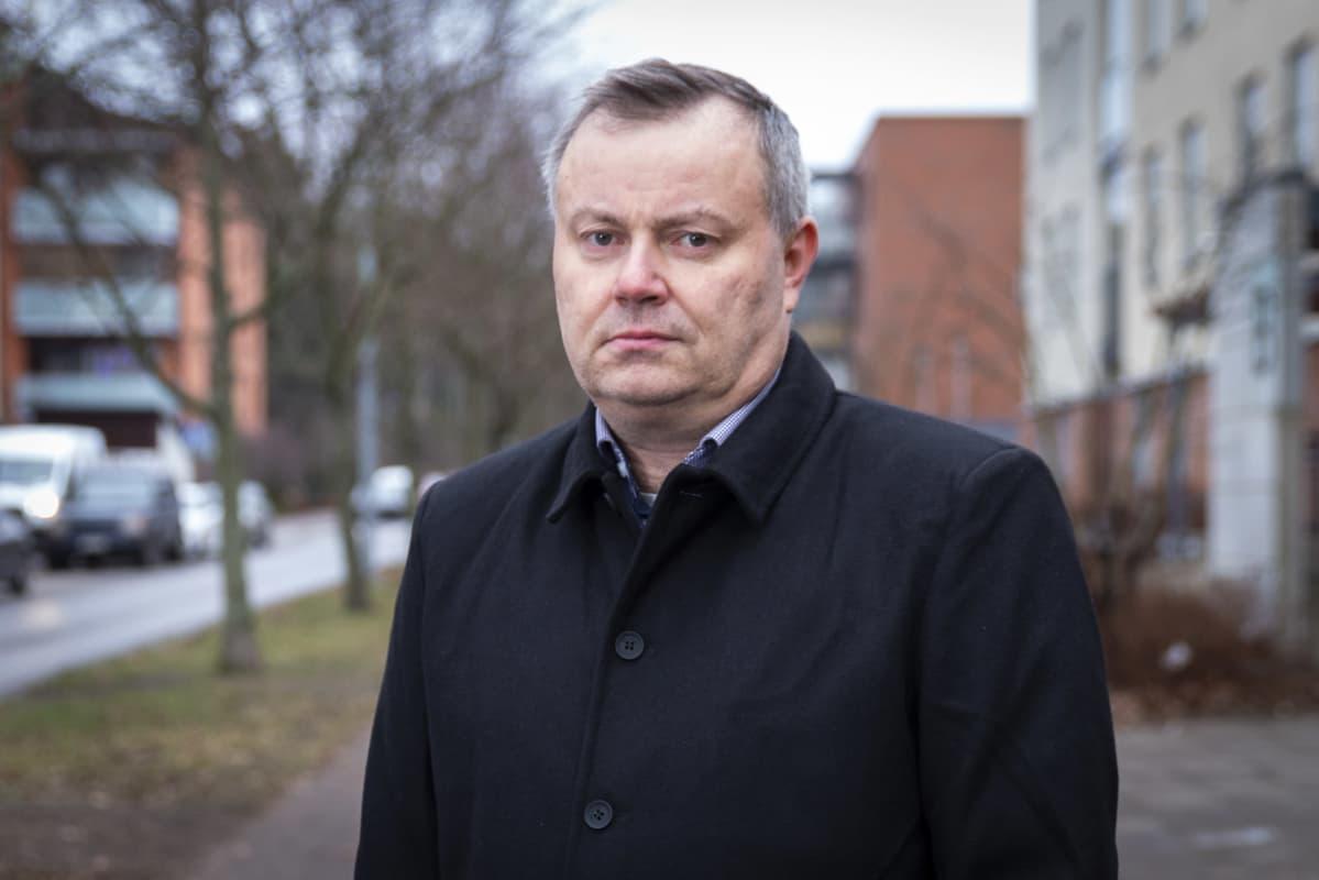 PTT:n toimitusjohtaja Markus Lahtinen