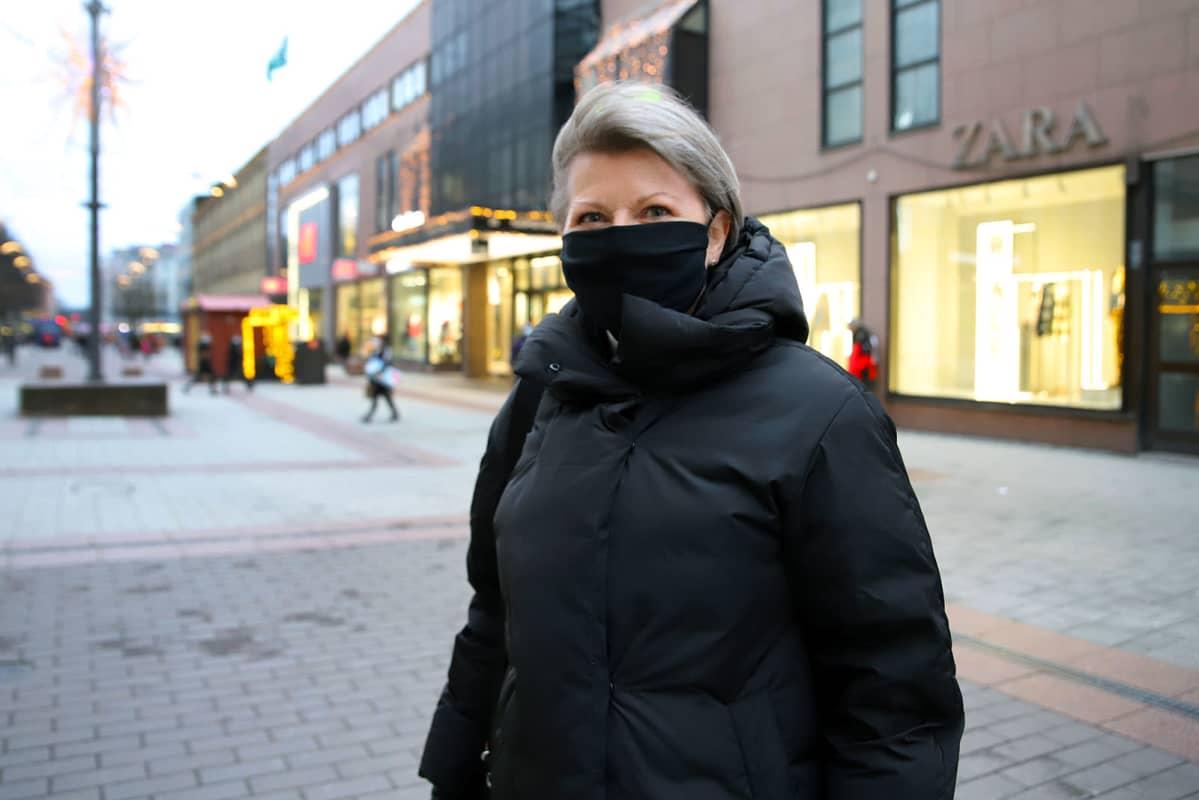 Gallup vuodenvaihteesta Turusta: Anne Enberg.
