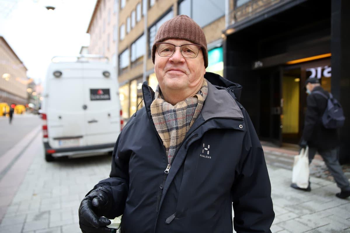 Gallup vuodenvaihteesta Turusta: Risto-Pekka Happonen.