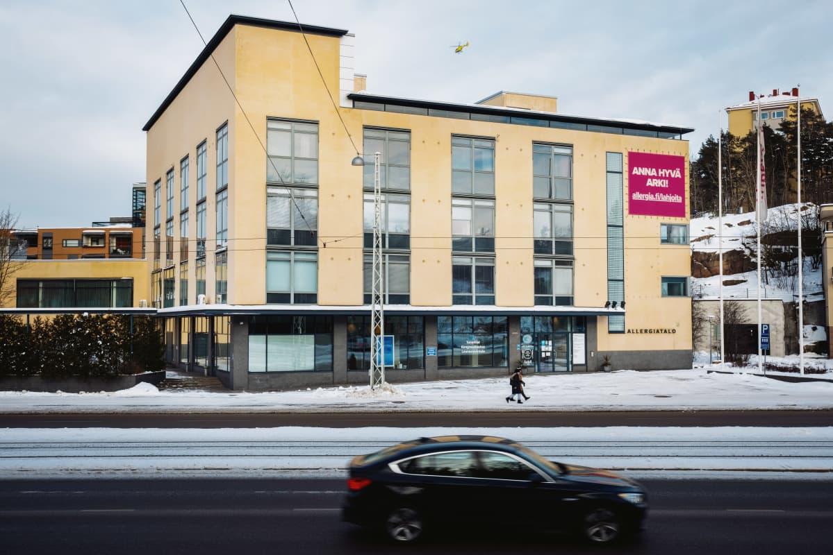 Allergiatalo Paciuksenkatu 19, Helsinki.