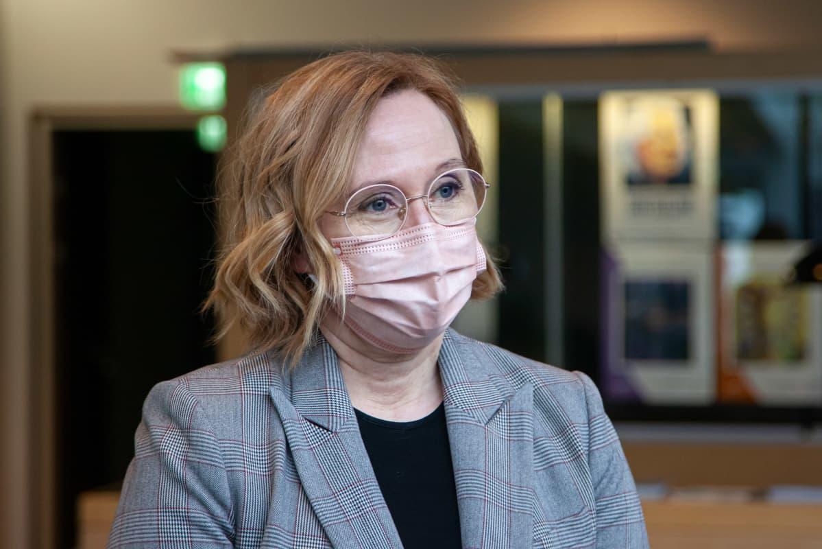 Lappeenrannan opetustoimenjohtaja Mari Routti.