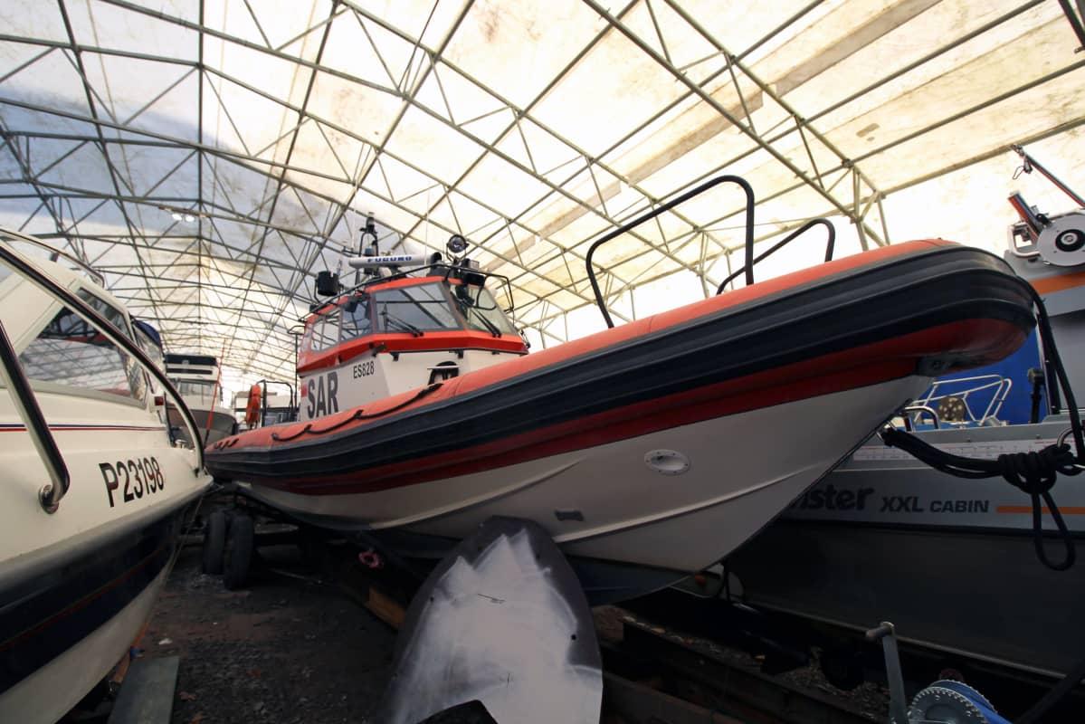 Savonlinnalainen pelastusvene Uuras