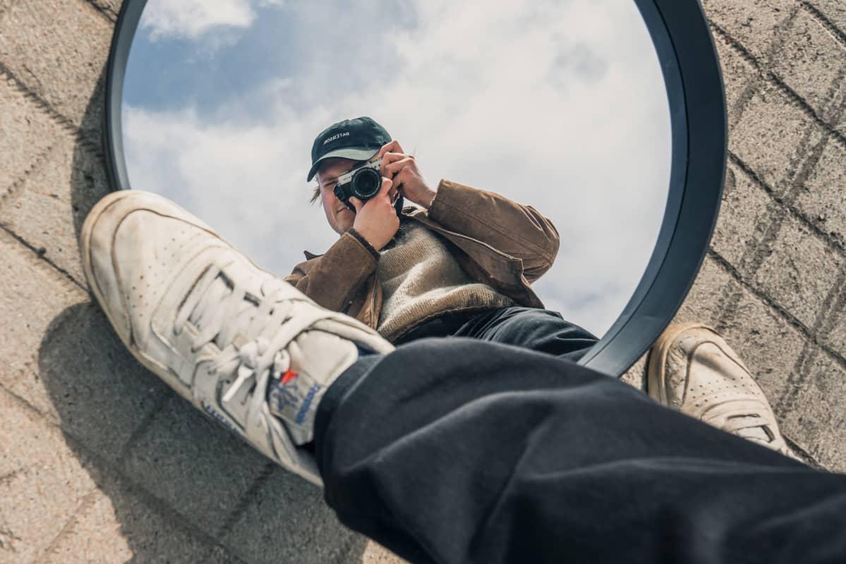 Anselmi Aumo harrastaa pilvivalokuvaamista.