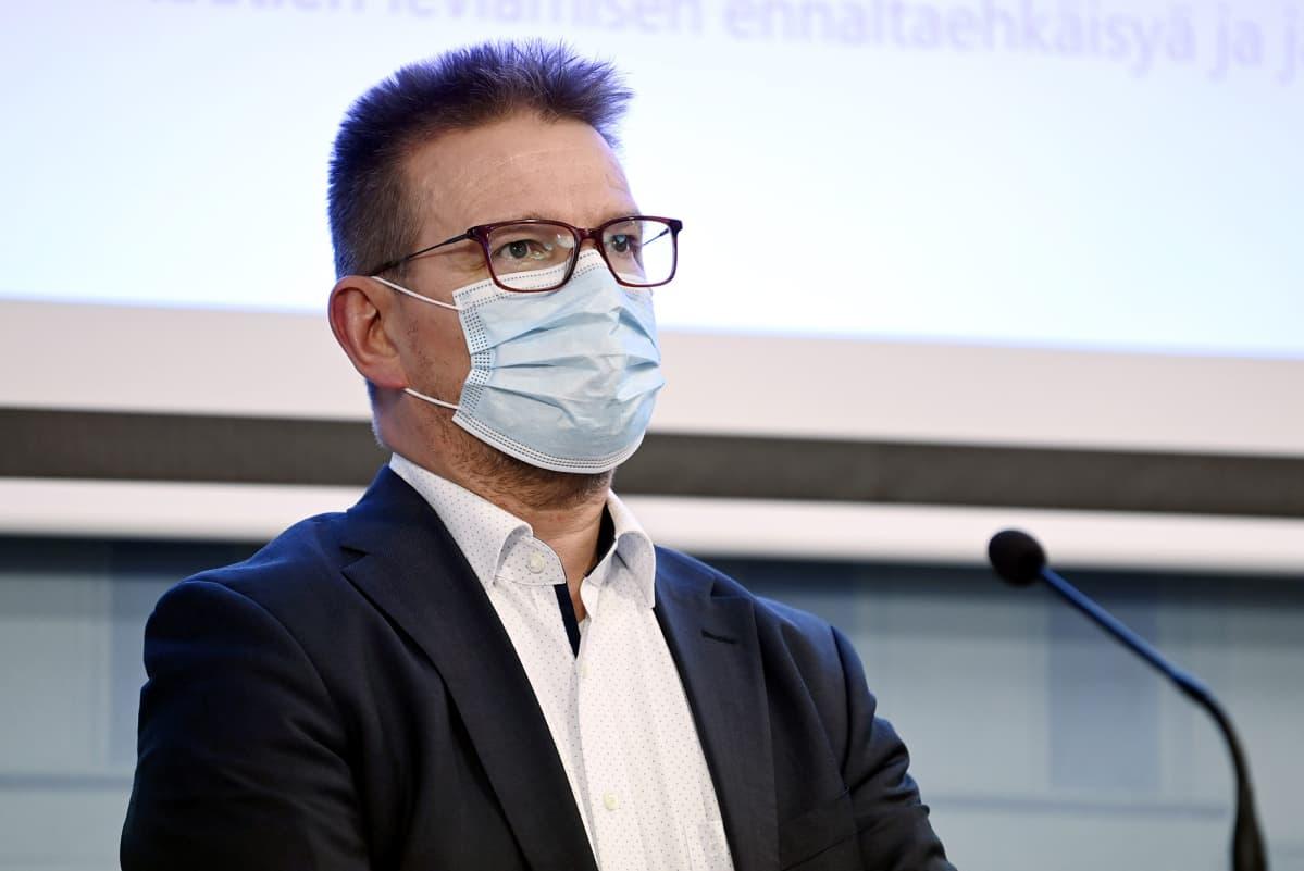 STM:n johtaja Jari Keinänen.