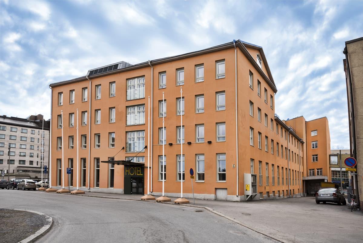 Entinen hotelli Kantarellis Vaasassa.