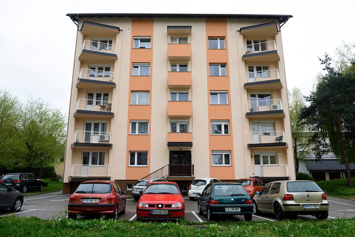 Melania Trump asui tässä Sevnicassa Sloveniassa sijaitsevassa talossa lapsuudessaan.