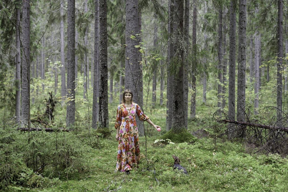 Elina Brotherus: Marcello's Theme, 2014, 90x135cm, sarjasta Carpe Fucking Diem.