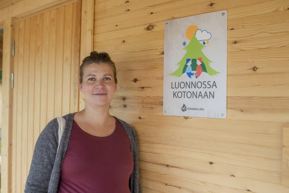varhaiskasvatuksen opettaja Marja Leppänen