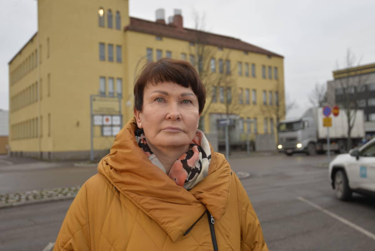 Pieksmäen kaupunginjohtaja Ulla Nykänen