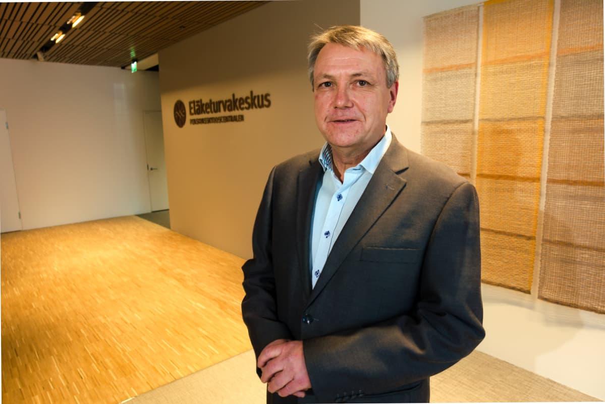 Kehityspäällikkö Jari Kannisto, Eläketurvakeskus