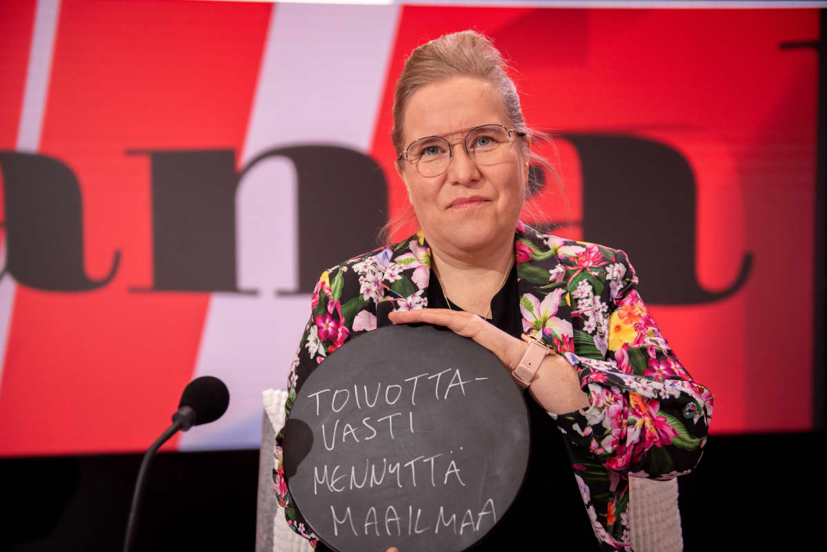 Viimeinen sana ohjelma, vieraana toimittaja Mari Pudas. 19.3.2021