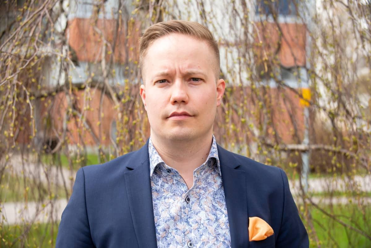 Projektipäällikkö Marko Borodavkin. 4.5.2021.
