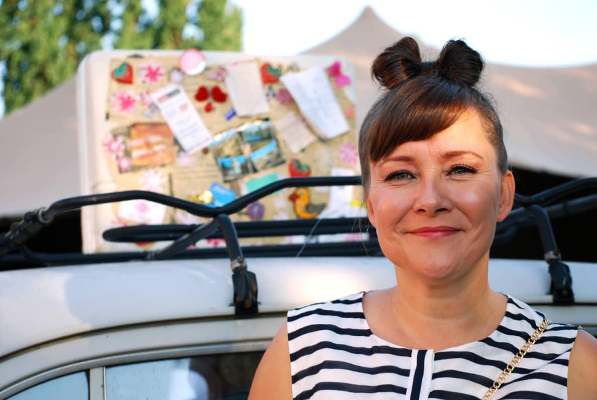 Marianne Haapoja on johtanut Työväen musiikkitapahtumaa jo 21 vuotta.