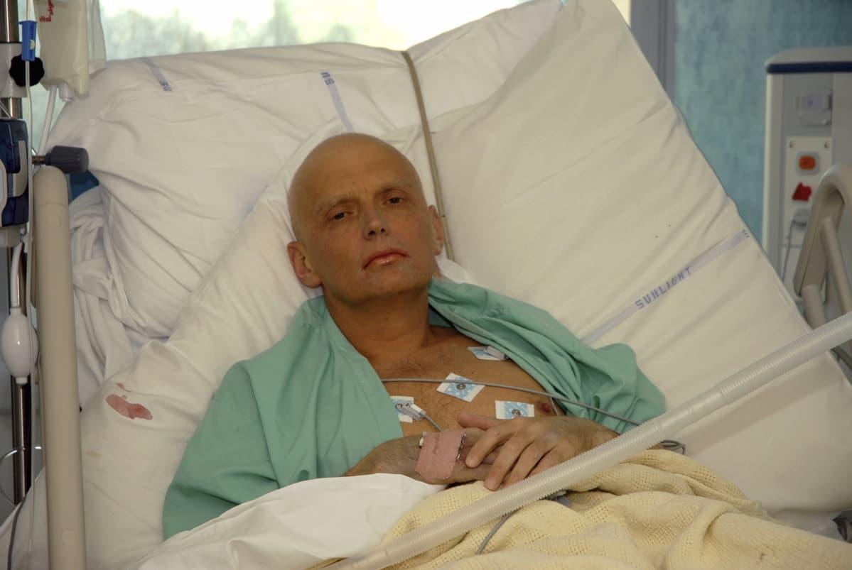 Entinen KGB:n agentti Alexander Litvinenko.