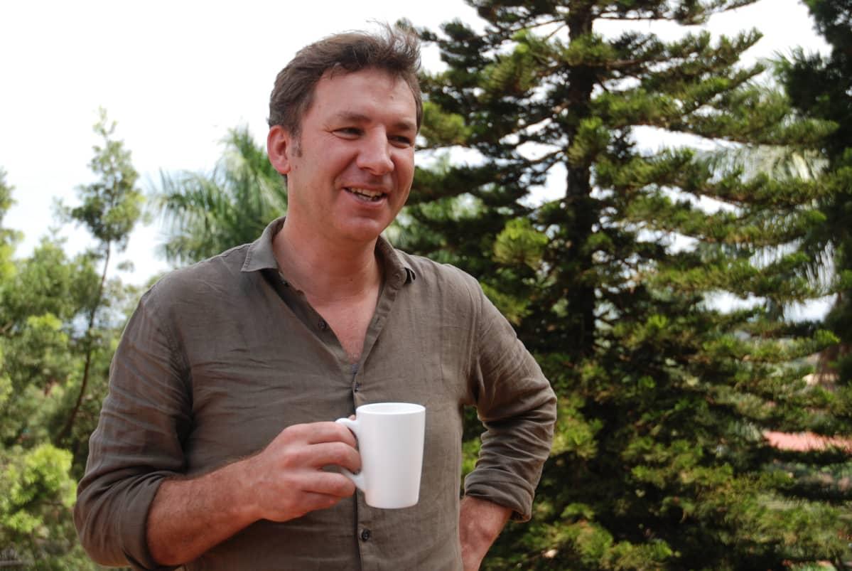 Ugandan IITA:n maajohtaja Piet van Asten.