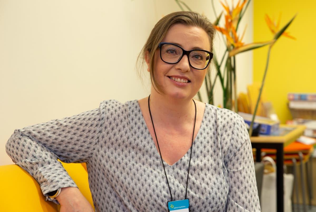 Työterveyslaitoksen vanhempi tutkija Jenni Ervasti