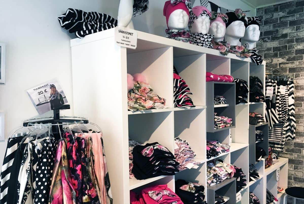 Samurai Shopin myymälä sijaitsee Soinissa