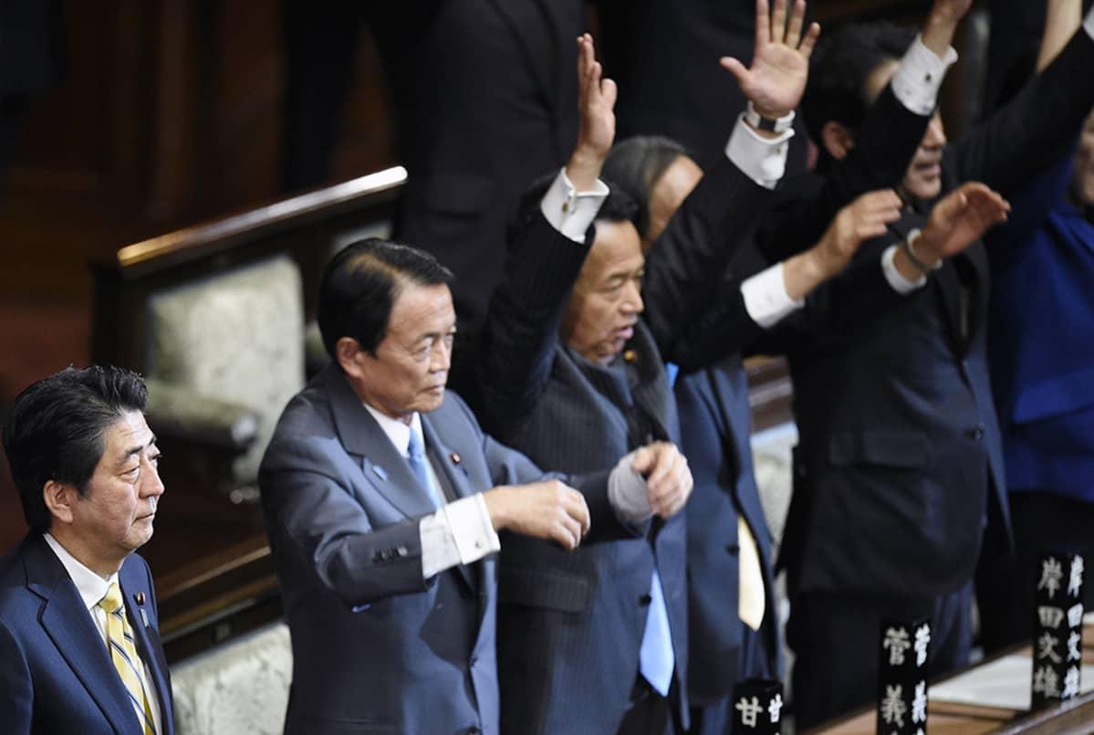 Shinzō Abe.
