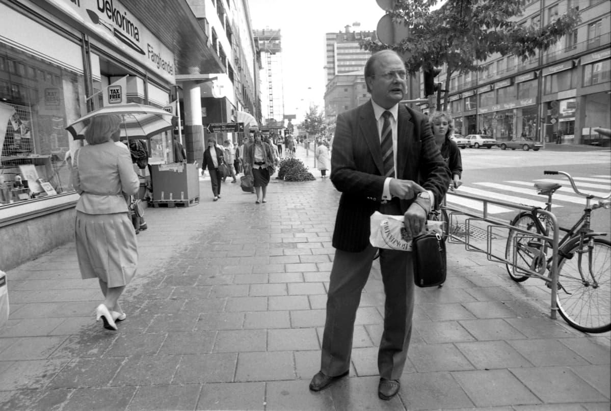 Stig Engström vuonna 1986.