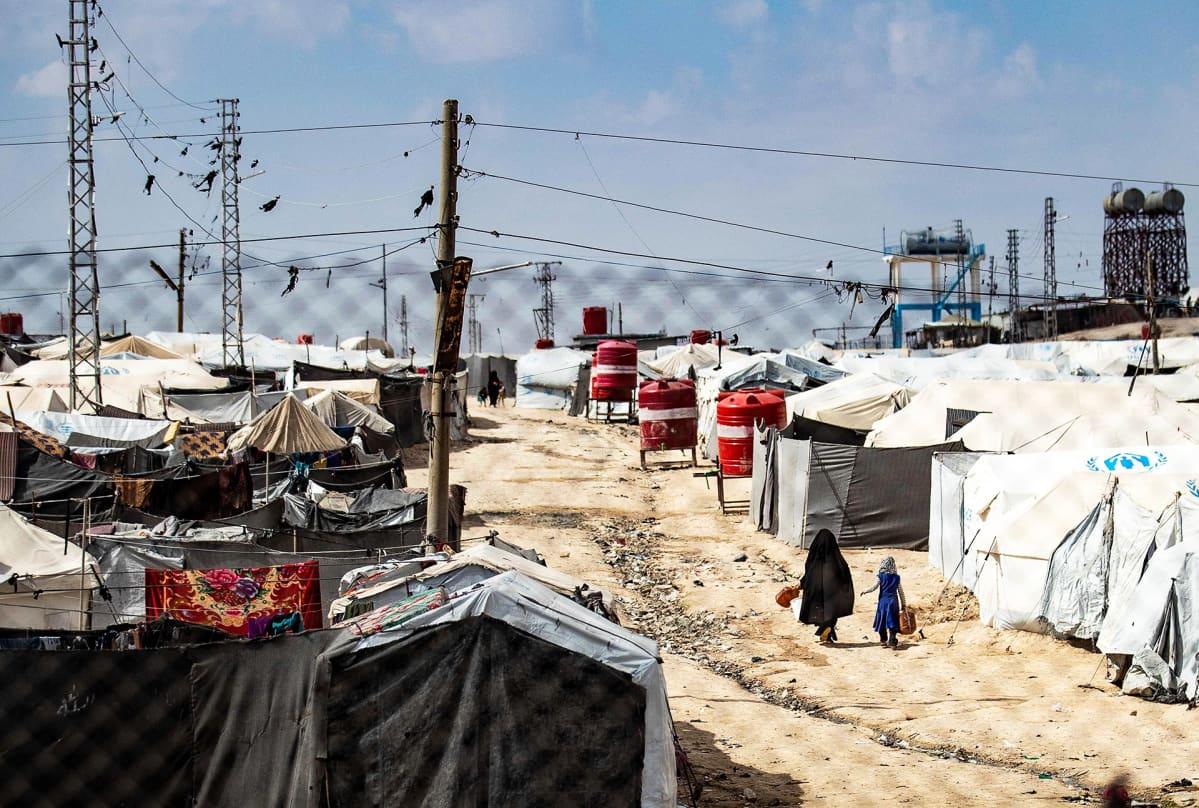 Al-Holin leiriä.