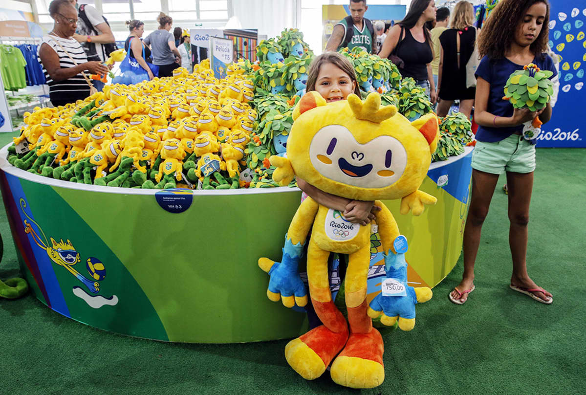 Rion olympialaisten maskotti