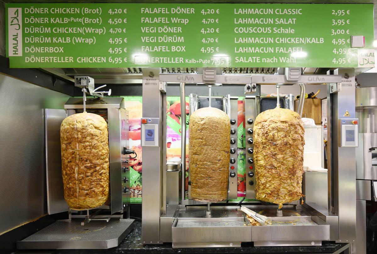 Kebabkioski Saksan Münchenissä.
