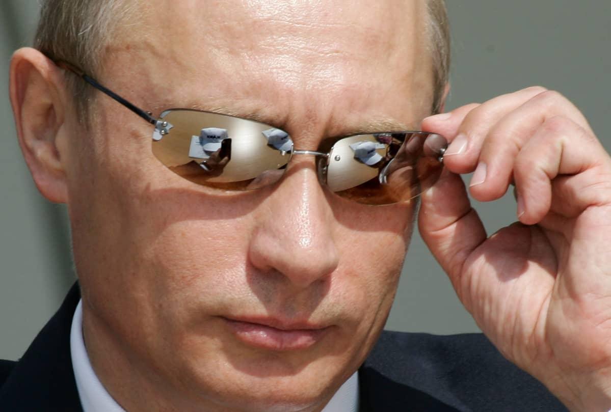 Vladimir Putin kuvattuna vuonna 2005