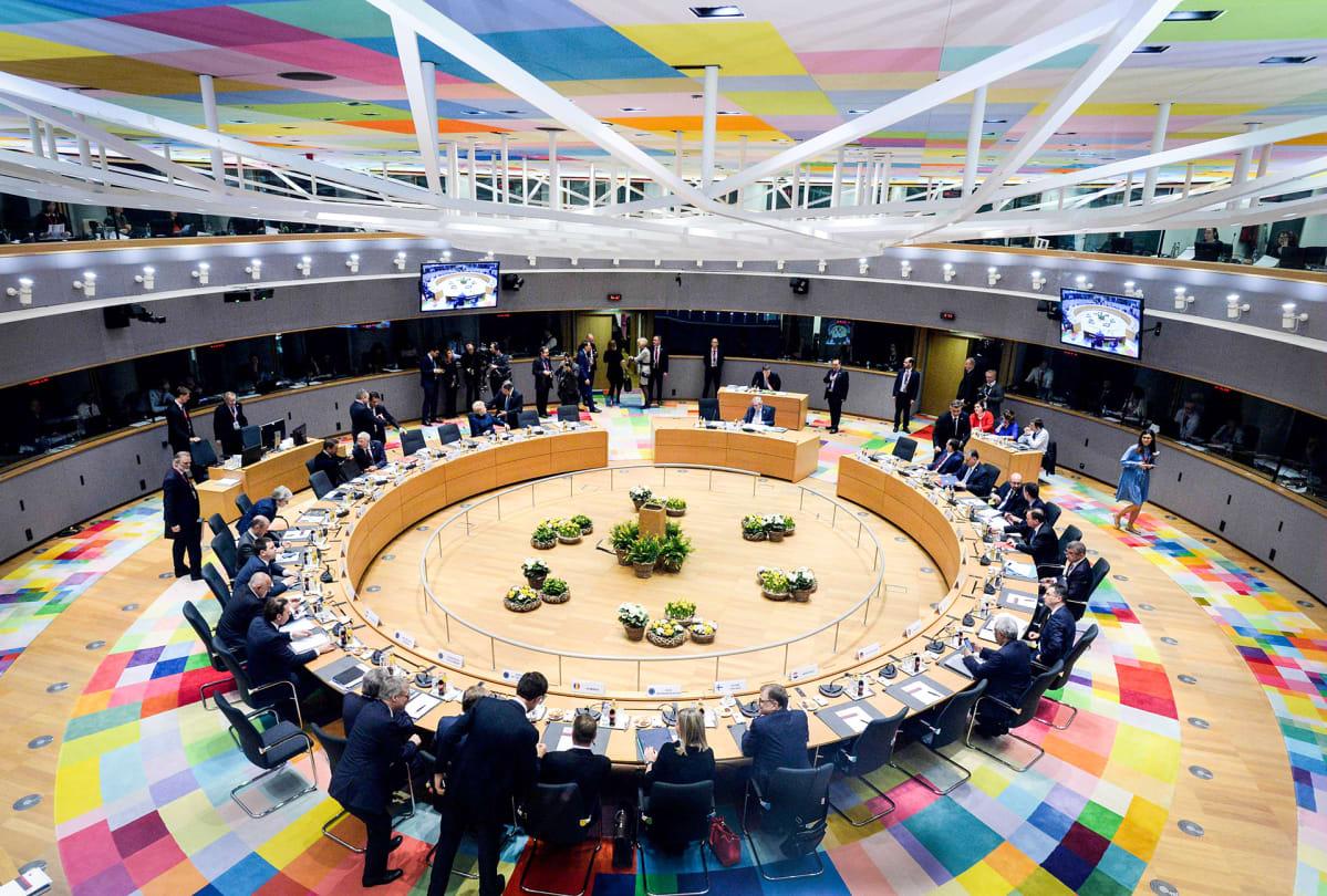 EU-maiden johtajat ovat koolla Brysselissä 21. maaliskuuta.