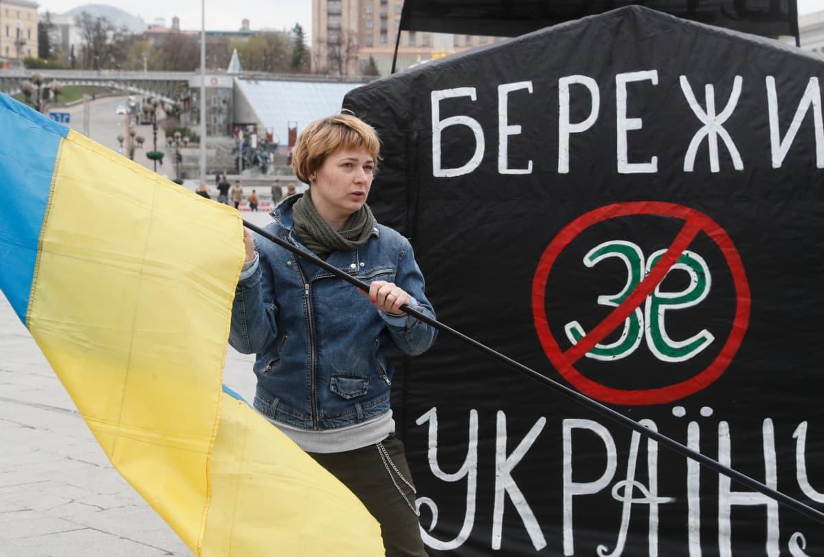 Ukraina vaalikampanja