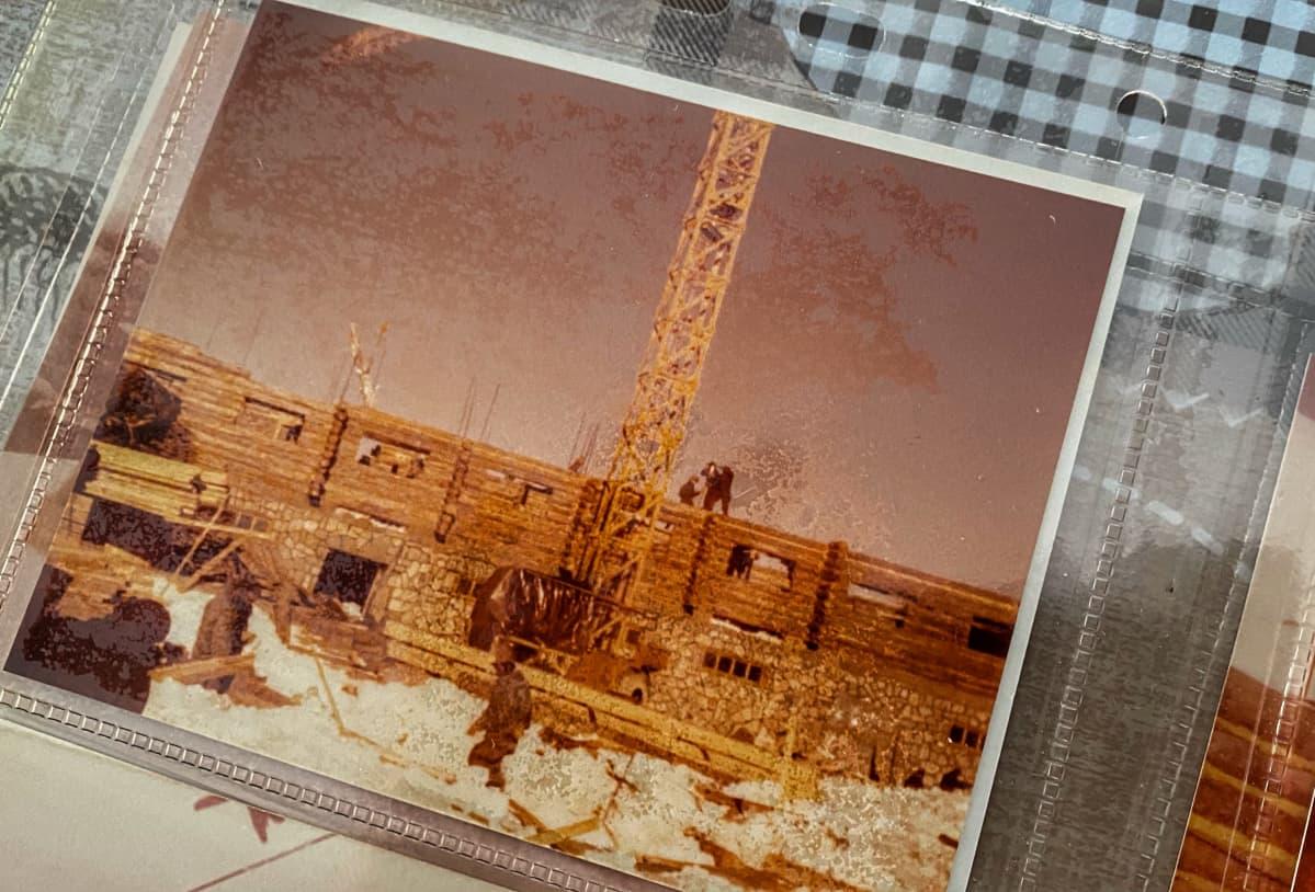Työmaa Iranin vuoristossa 1978