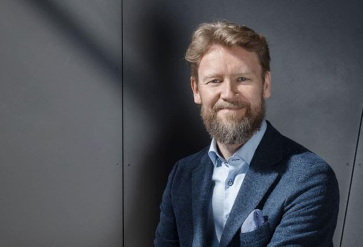 Kaarlo Hildén on Taideyliopiston uusi rehtori.
