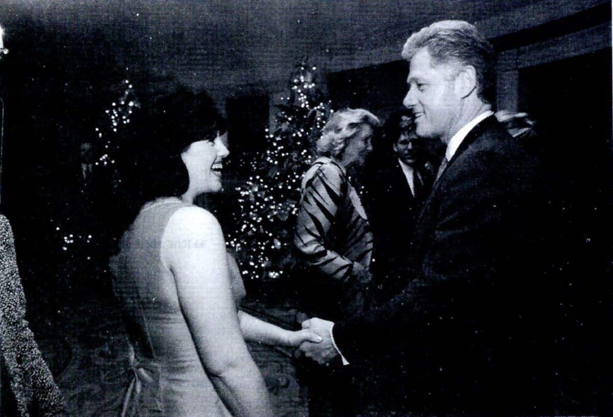 Monica Lewinsky ja Bill Clinton