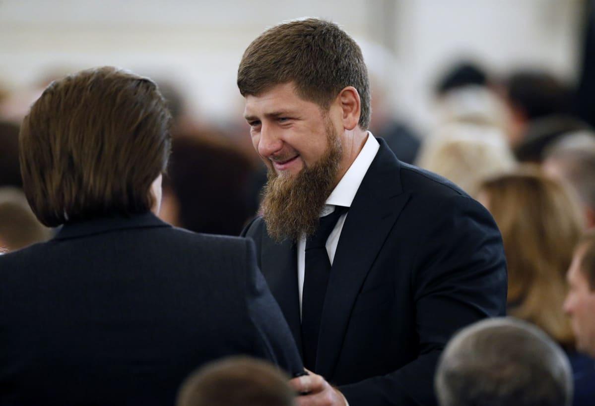 Ramxan Kadyrov parrakas mies