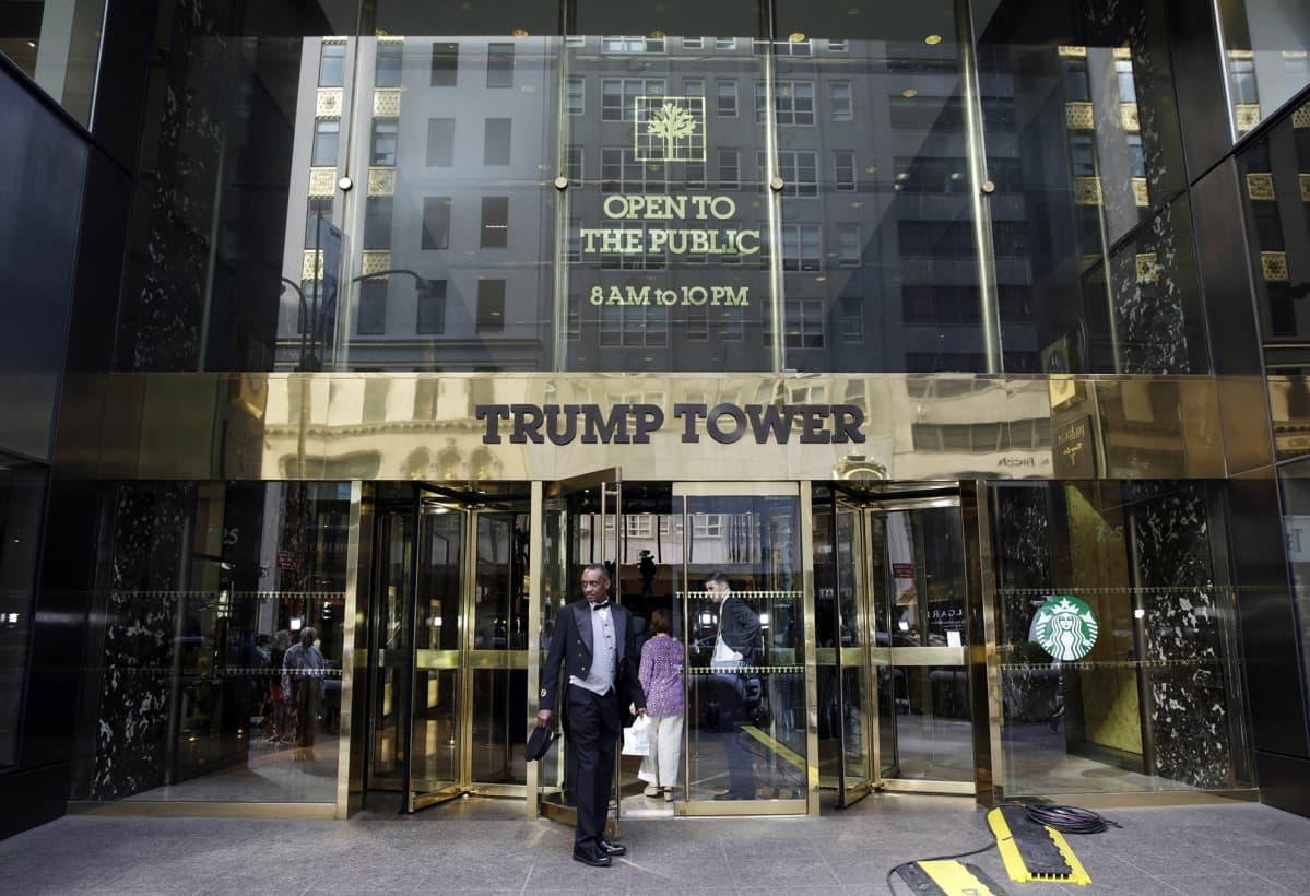 Trump Tower new Yorkissa.