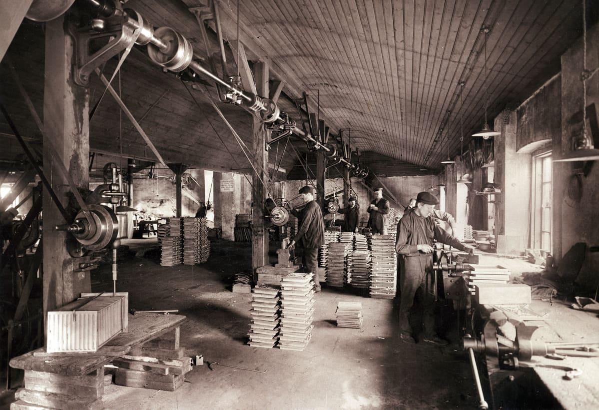 Högforsin konepaja 1922