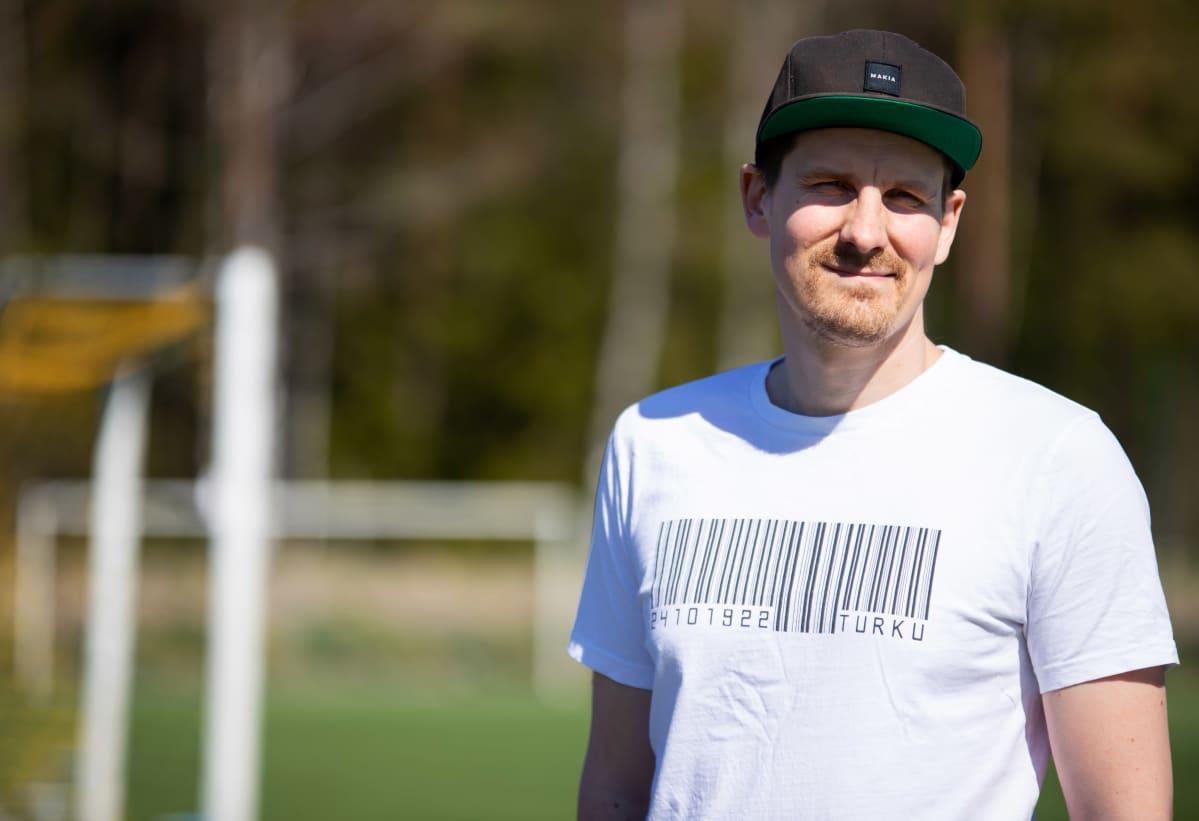 FC TPS:n liiketoiminnan kehitysjohtaja Arto Kuuluvainen.