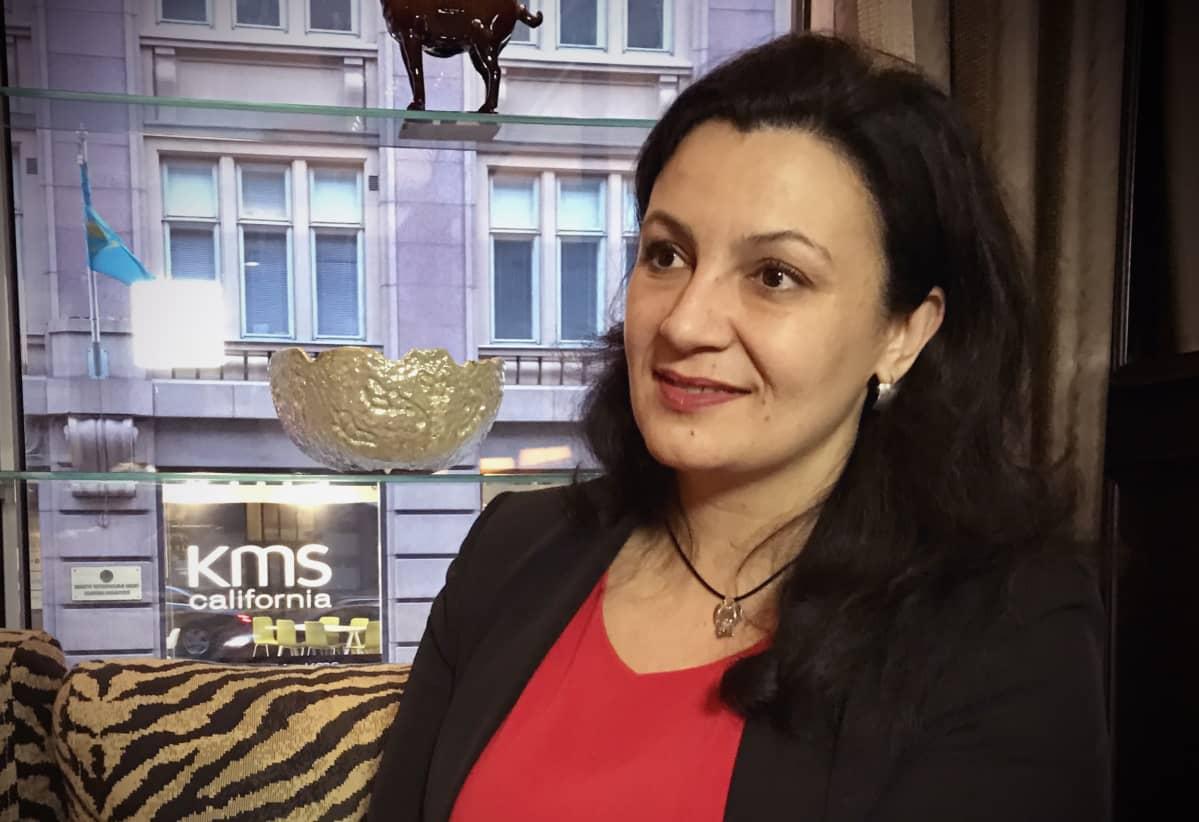 Ukrainan varapääministeri Ivanna Klympush-Tsintsadze