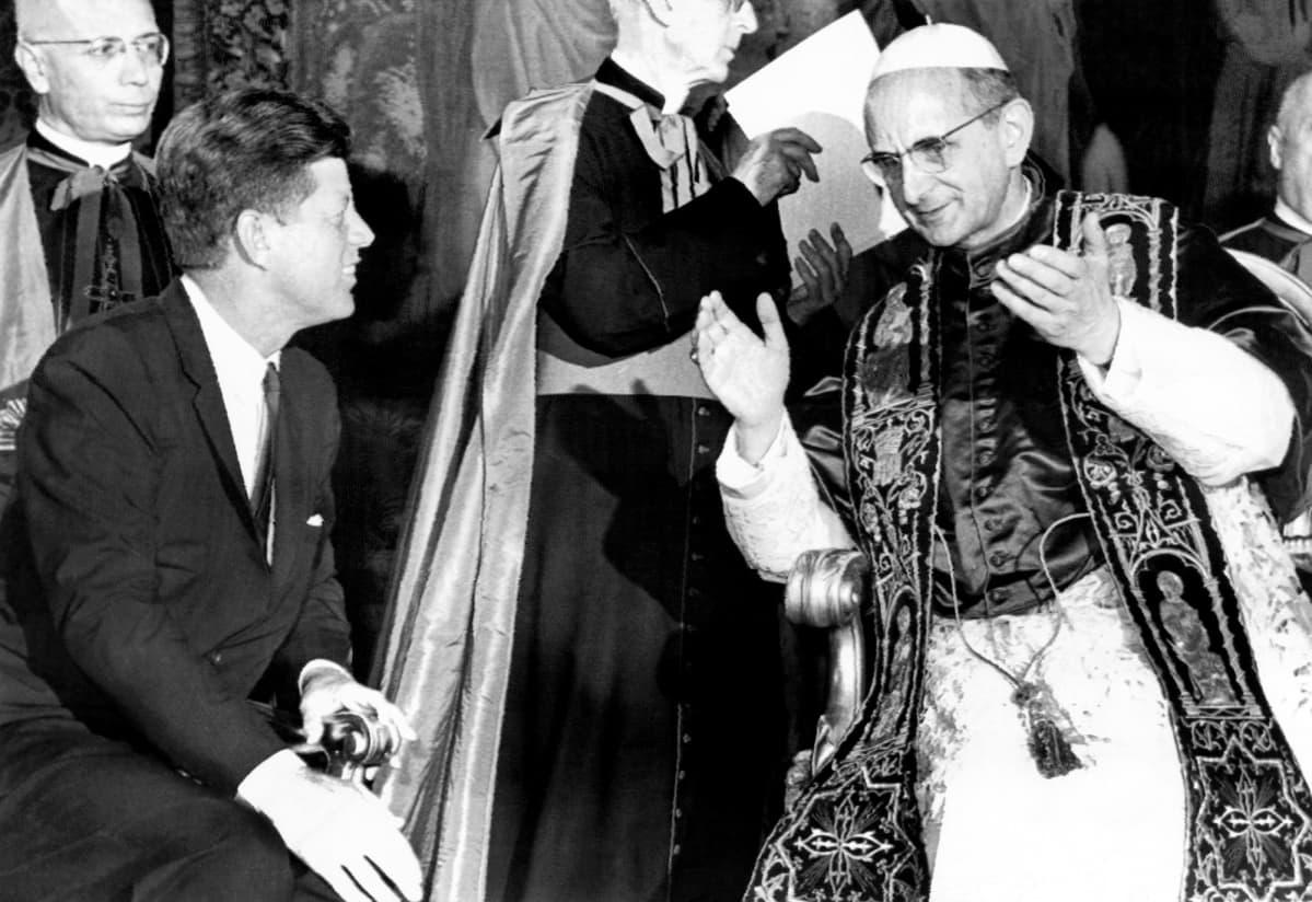 John F. Kennedy ja Paavi Paavali VI