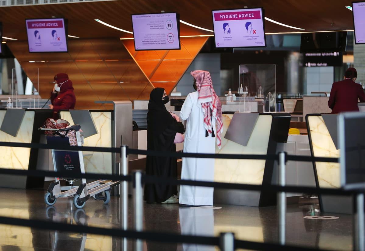 Hamadin lentokenttä.